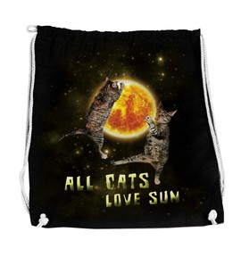 Batoh All cats love sun